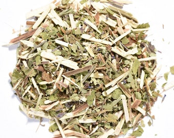 BLUE VERVAIN | Organic | Herbal Tea | Herb | Loose Leaf | Tea Bags | Tea Tin | Iced Tea | Eco-Friendly