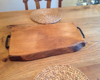 Oak cutting/chopping board, food serving platter or cheese board