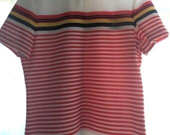 70's Acrylic Zip-up Shirt