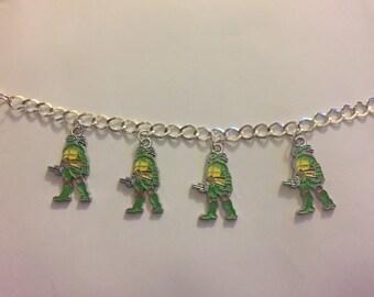 Teenage Mutant Ninja Turtles Charm Bracelet