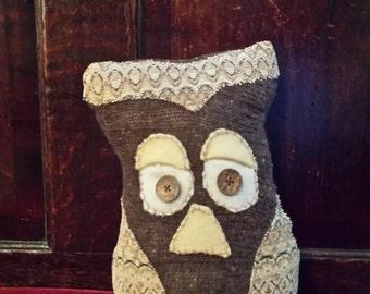 Hooty Stuffed Owl One