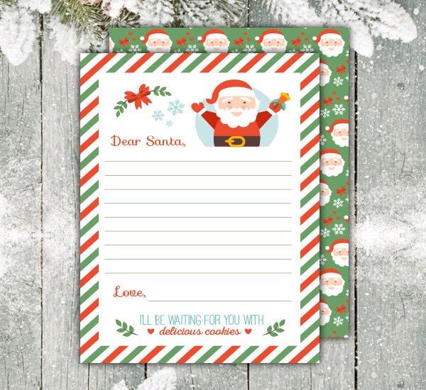 Santa wish list – Christmas Wish List Paper