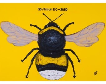 The Plight of the Bumble Bee, Greeting Card