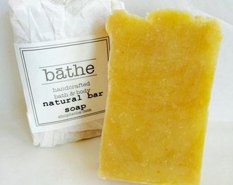 Homemade Natural Bar Soap