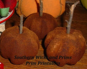 Prim Dirty Fruit Bowl filler EASY Instant Download e recipe!  Fragrant bowl fillers!  Craft Show sellers or for friends and family!