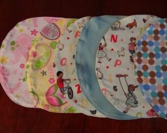 Infant Burp Cloth Bouquet 6-pc assortment