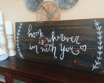 Home Wood Decor 36in x 16in