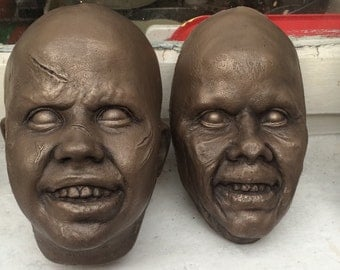 Linda Blair the exorcist rare life casts in bronze