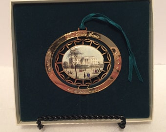 1992 Whitehouse 200th Anniversary Edition Christmas Ornament