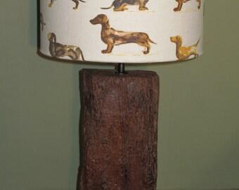 Dachshund table lamp