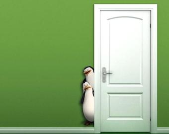 3D Penguins Madagascar Wall Sticker