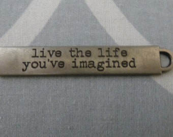 Tim Holtz Idea-ology word band - Live the life you've imagined