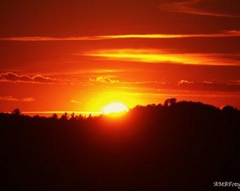 Adirondack Sunset (Digital Download)