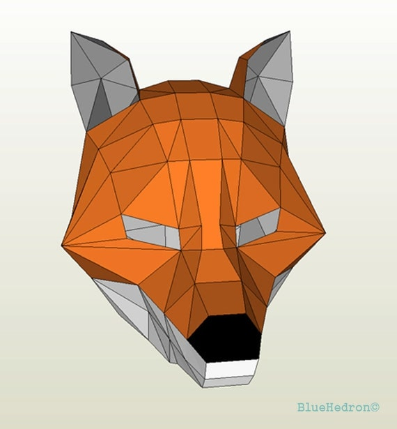 graphic about Printable Fox Mask named Fox Mask Printable Day by day Commitment Offers