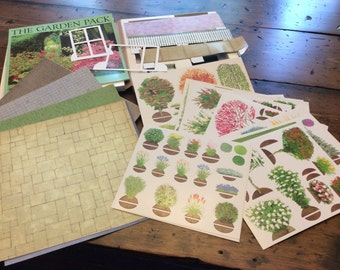 3 Dimensional Garden Planning Kit with Die-cuts (A604)