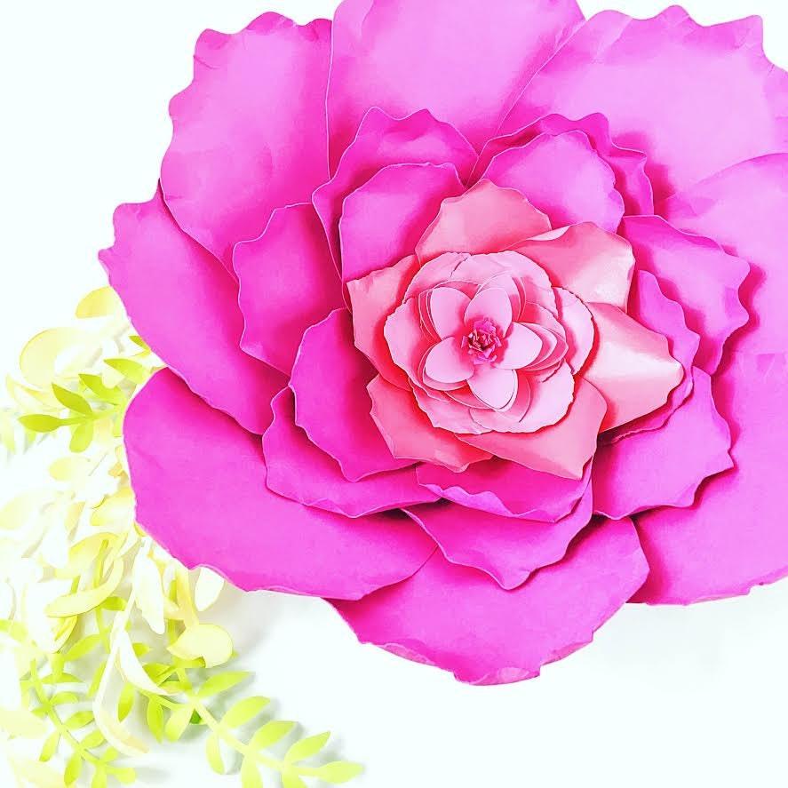 giant paper peony templates  u0026 tutorial paper flower patterns