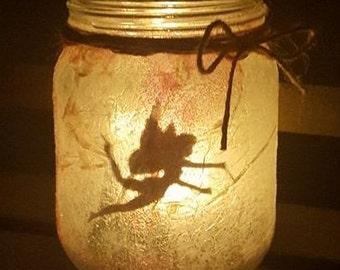 Fairy Tea Light Jar