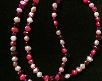 Wild Berries Pearl Necklace