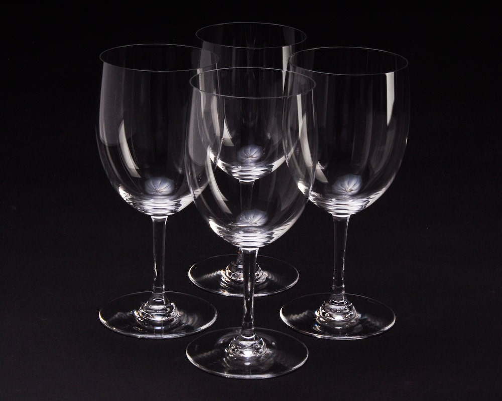 Baccarat crystal stemware water goblets baccarat perfection - Baccarat stemware ...
