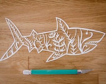 Shark Original Papercut