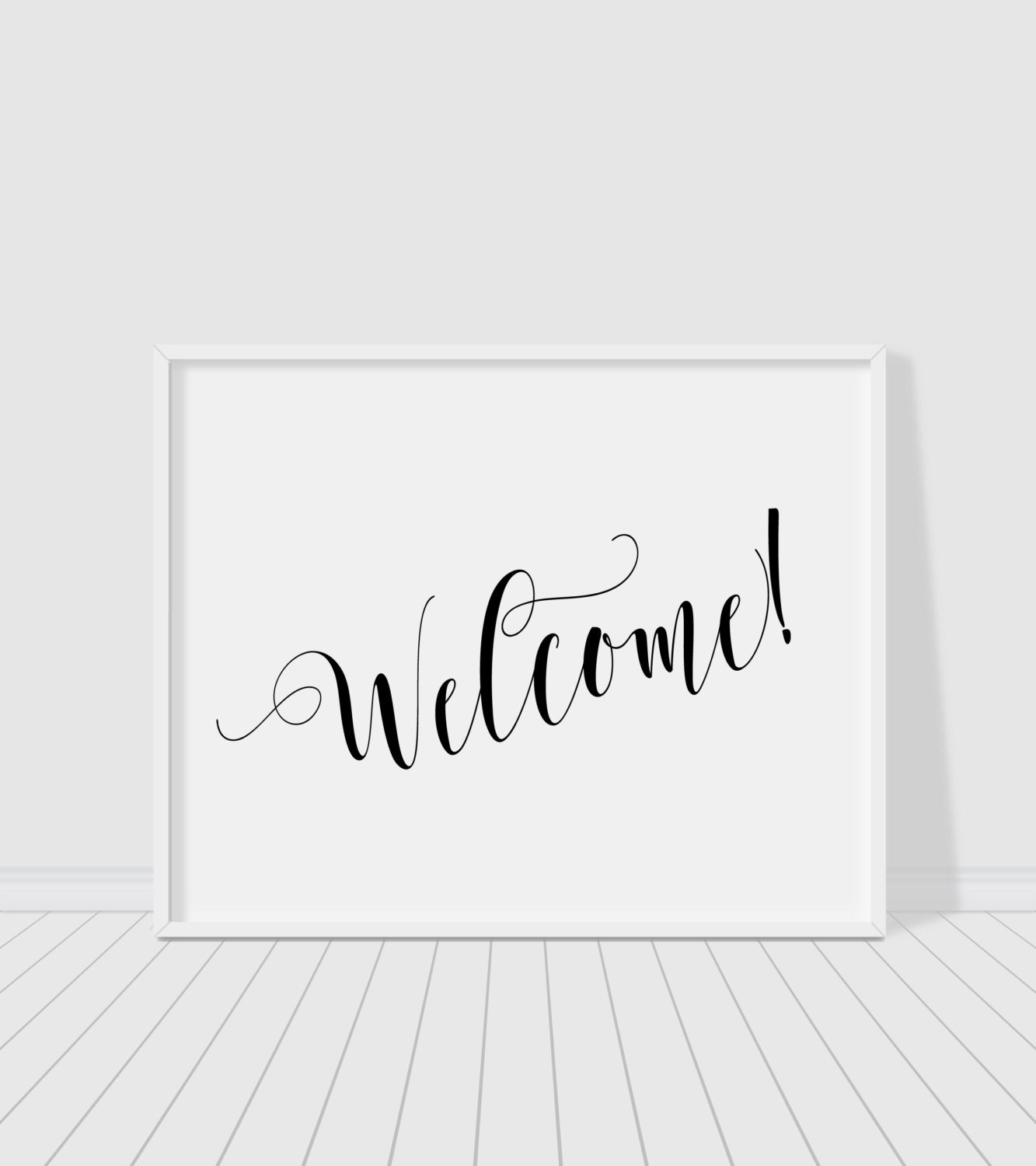 This is an image of Eloquent Free Printable Welcome Sign