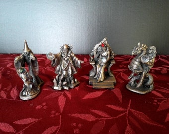 King Arthur Gorham Chess Set
