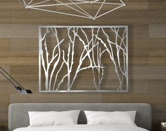 Laser Cut Metal Decorative Wall Art Panel Sculpture For Home, Office ,  Indoor Or Outdoor