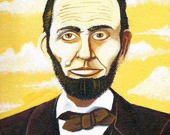 Sepia Lincoln