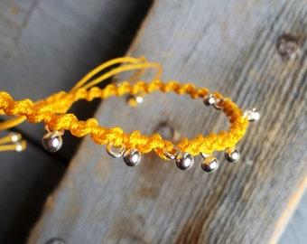 Pendants silver bracelet