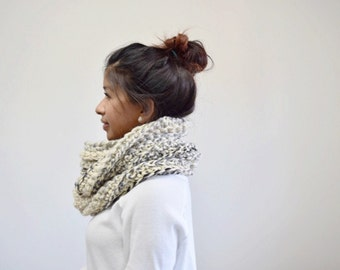 Crochet Circle Infinity Scarf | Infinity Scarf | Moonlight