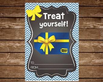 Best Buy Gift Card Holder Tag - Printable