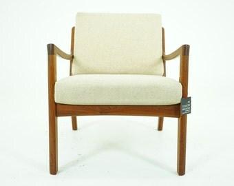 305-029 Danish Mid Century Modern Teak Lounge Chair Armchair by Ole Wanscher