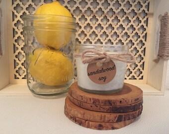 Antique Sandalwood Soy Candle Natural Essentials