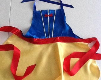 Princess Snow White Inspired Apron
