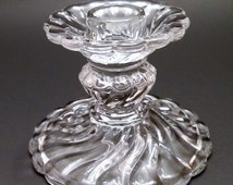 Fostoria Colony Clear Candlestick Holder