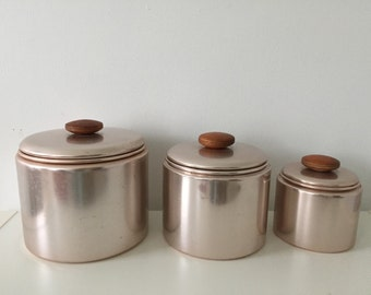 Midcentury kitchen canister set