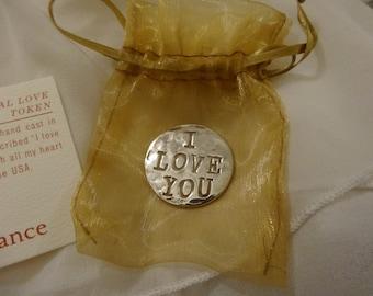 Eternal Love Sterling Silver Token