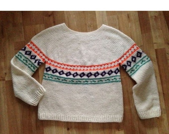 Scandi style jumper