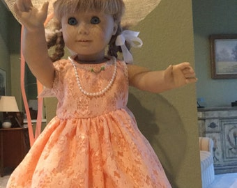 Fancy Dress for American Girl Doll