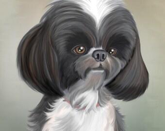 Custom Pet Caricatures