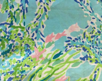 Blue Heaven Lilly  Fabric