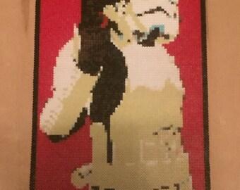 Stormtrooper - Perler Bead Art