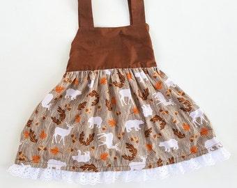 Woodland Tie Back Dress