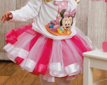 girls first birthday tutu set