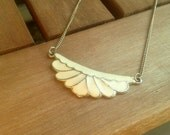 Free shipping. Art deco. Necklace.