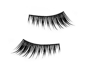 Long & Short Versions Corner Half Partial False Fake Eyelashes Handmade By Sera G - Made in UK