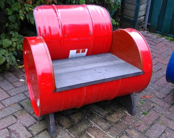 drumseat or bench of oil barrel