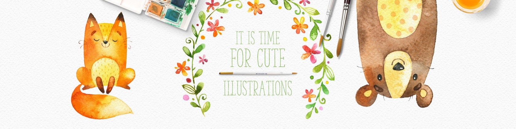 its time for cute illustrations welcome to our by