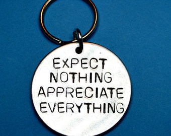 Christmas gift idea- Gift exchange - Secret Santa gifts - Expect nothing- Appreciate everything - Best coworkers gifts - Inspirational gift