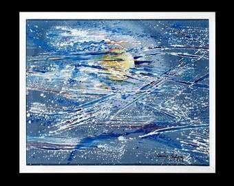 "Painting ""Moonlight"""